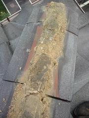 隅棟葺き土の量