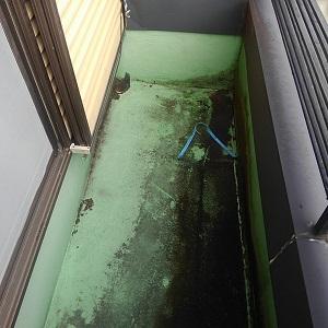ベランダ防水劣化