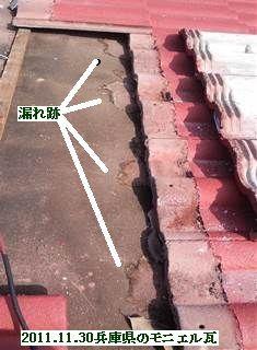 2011.11.30兵庫県のモニエル瓦[1]