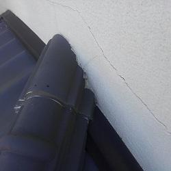 2016.1.24大阪府の壁面雨漏り