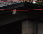 屋根勾配無視不適合建材使用型雨漏り