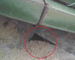 寄棟桟瓦施工不備型雨漏り