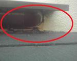 増改築樋壁内埋め込み型雨漏り