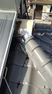 京都府での瓦屋根修理工事