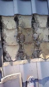 大阪府・堺市瓦屋根・雨漏り修理診断と修理