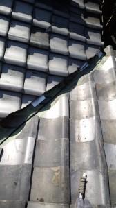 柏原市瓦屋根・雨漏り修理診断と応急処置