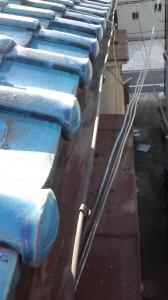 大阪府・大正区・瓦雨漏り修理完成2011年11月22日