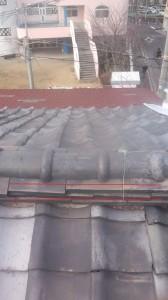 大阪府の瓦屋根雨漏り修理工事