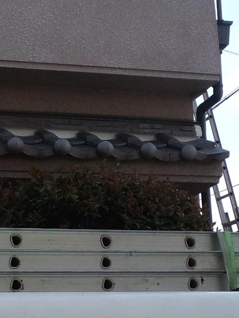 大阪府・堺市の屋根漆喰工事完成
