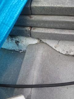 堺市堺区の瓦屋根雨漏り修理診断