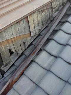 寝屋川市の雨漏り修理調査