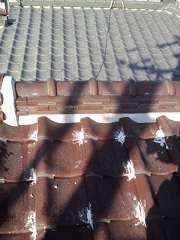 守口市の瓦屋根雨漏り
