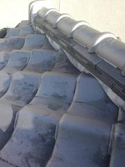 交野市での瓦屋根雨漏り調査