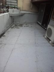 ベランダ雨漏り 2013年4月6日