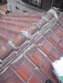 兵庫県の全面シリコン止め雨漏り屋根