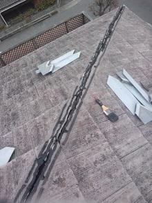 兵庫県の寄棟屋根雨漏り