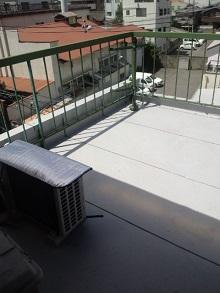 陸屋根防水板金工事