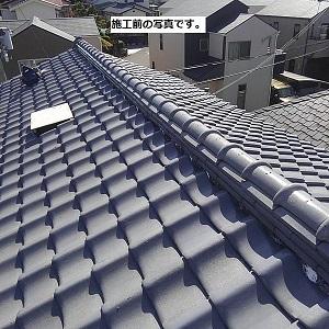 日本瓦・棟瓦の積み直しで雨漏りは直ります。
