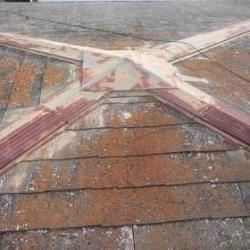 緩勾配薄型化粧スレート屋根