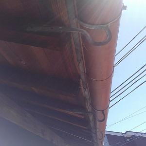 屋根漆喰工事・(現場 岸和田市)