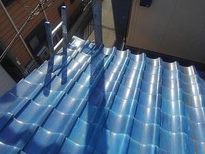 堺市で屋根修理診断です