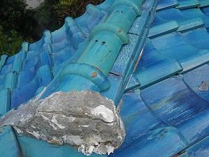 池田市に雨漏り調査に行っておりました。