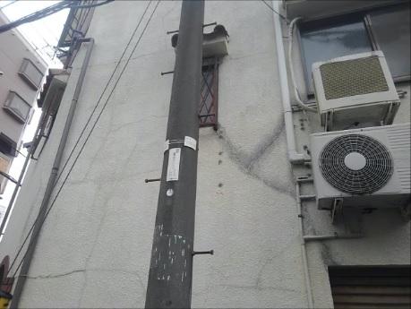 外壁の雨漏り・福島区