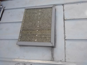 大阪市旭区の板金屋根雨漏り調査