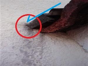 水切り板金鼻仕舞い雨漏り