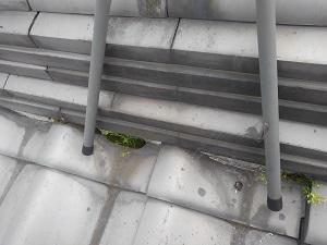 和泉市の雨漏り調査と応急処置