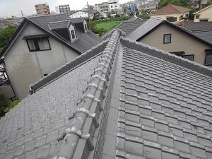高槻市の屋根修理調査