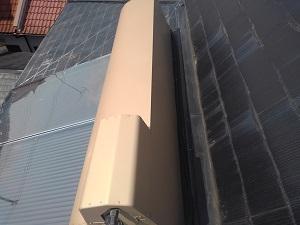 三田市のスレート屋根雨漏り調査