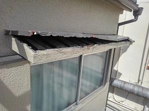 堺市の屋根修理調査