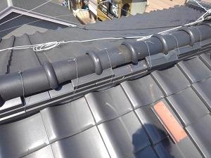 摂津市の瓦屋根修理調査