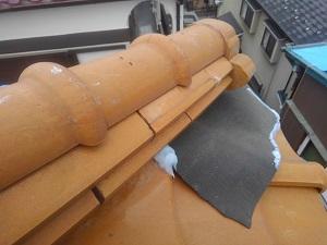 枚方市の屋根修理調査