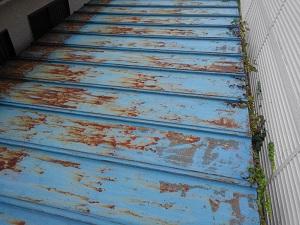 神戸市中央区の屋根修理調査