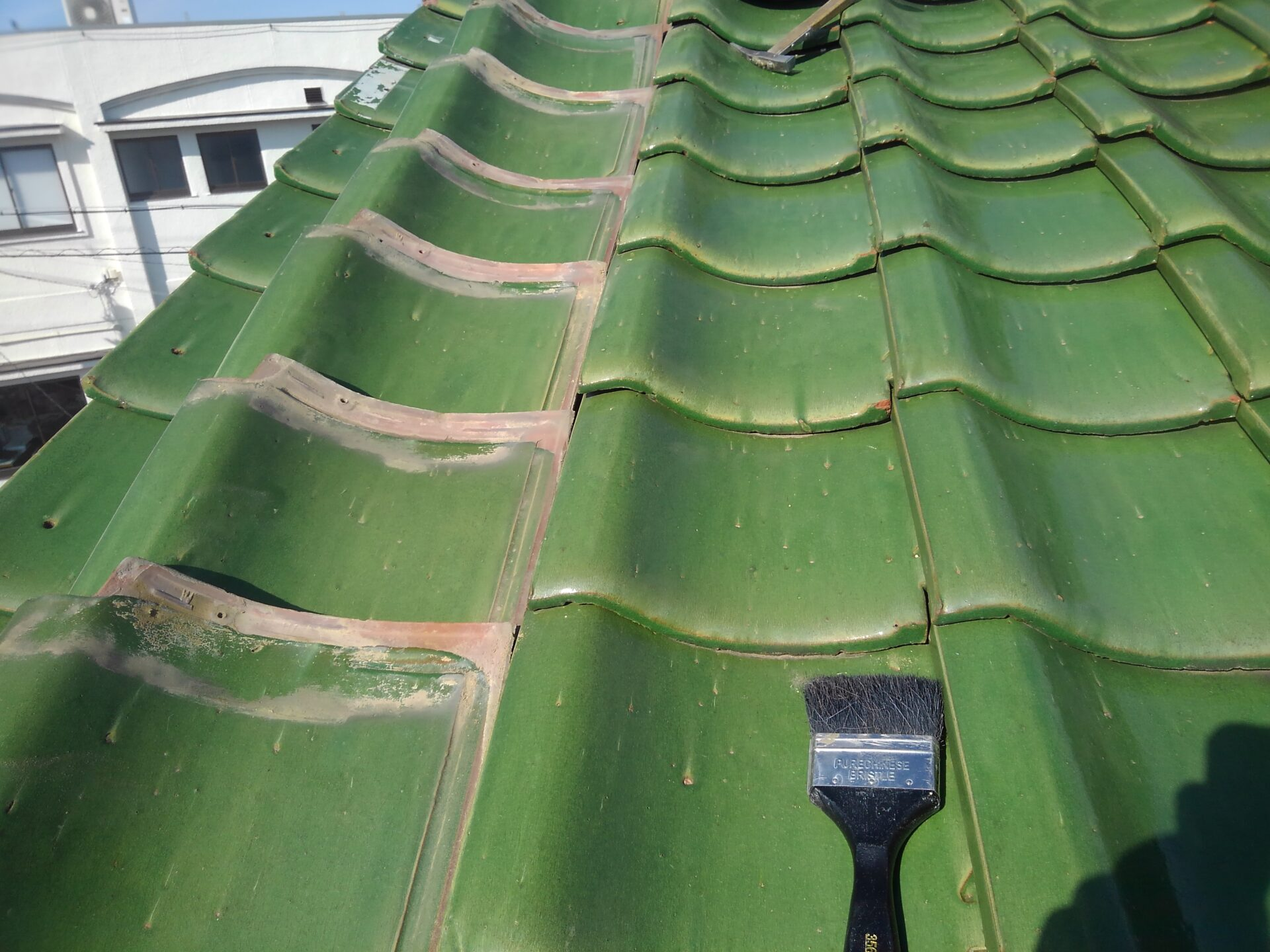 尼崎市の雨漏り修理工事