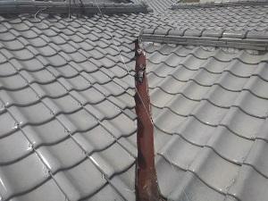 屋根修理調査八尾市にて