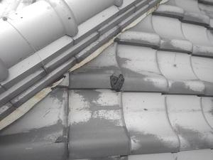 奈良市の屋根修理調査です