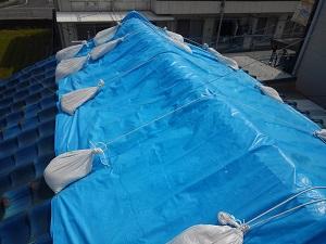 寝屋川市の瓦屋根修理調査