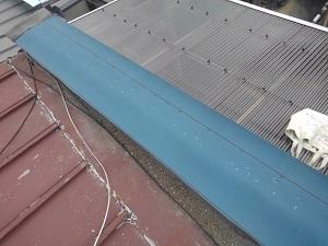 枚方市での雨漏り調査