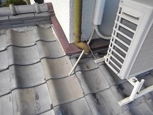 貝塚市の台風被害修理の調査