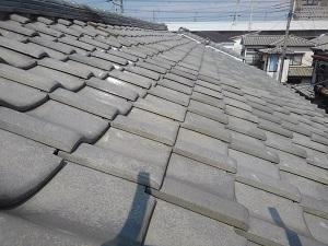 堺市中区での屋根修理調査