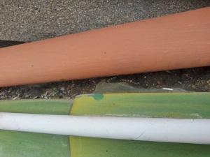 高槻市での雨漏り修理調査です