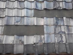 岸和田市の屋根修理調査