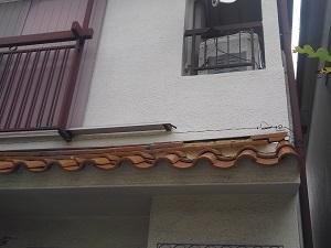 堺市西区で屋根修理調査