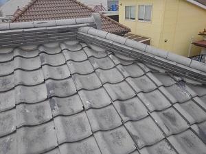 伊丹市の瓦屋根修理