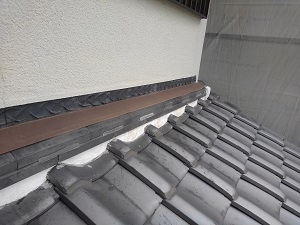 堺市東区の雨漏り修理