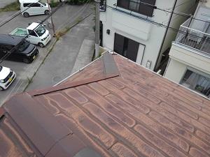 スレート屋根の修理(岸和田市)