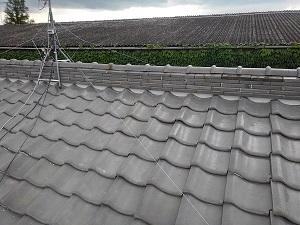 枚方市のトタン屋根修理工事